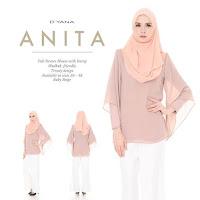 BLOUSE CHIFFON ANITA BY DYANA