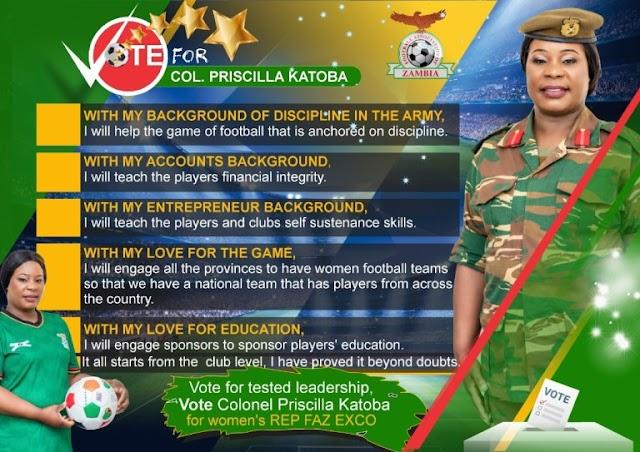 Συνταγματάρχης Katoba: Μία κυρία αποφασισμένη να βελτιώσει το γυναικείο ποδόσφαιρο