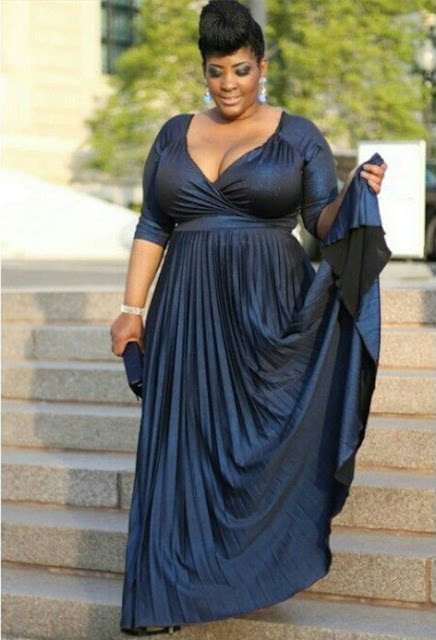 A-line Of Long Plus-Size Sexy Half-Sleeve V-neck Mother Of the Bridal Dress