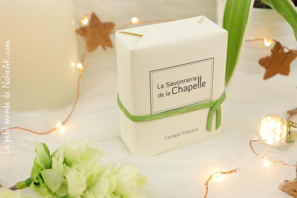 Savon carapa procera  La savonnerie de la  Chapelle