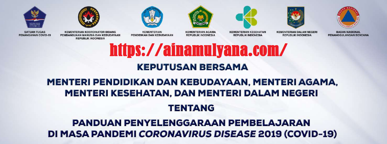SKB 4 Menteri Tentang Panduan PTM Pembelajaran Tatap Muka Terbatas Pada masa Pandemi Covid-19