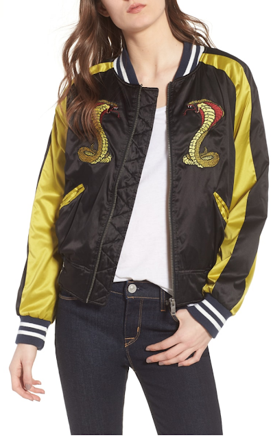 hudson satin jacket Refashion Hot Trends or Buy! DIY inspiration for the fashionista BUY or DIY - Inspired DIY Fashion you can make or refashion from the clothes you already have! #fashionista #diy #diyclothes #diyaccessories #refashion