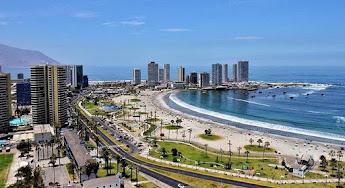 Port of Iquique, Chile.