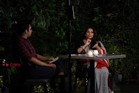 Bollywood Actress Vidya Balan Pos in Saree at Live in Conversation With Renil Aham  0011.jpg