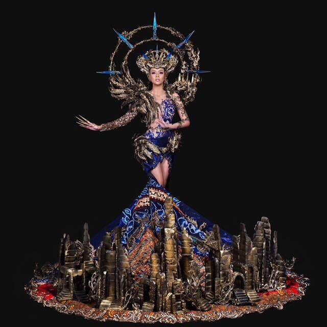 Indonesia wins Best National Costume at Miss Grand