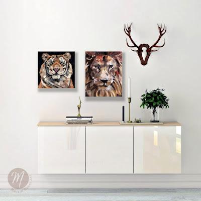 thoreau-tiger-painting-merrill-weber
