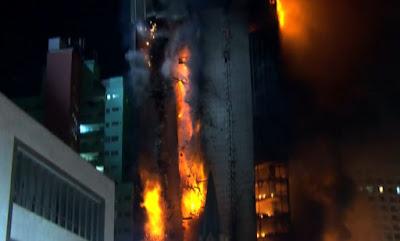Nota do Conselho de Arquitetura e Urbanismo de São Paulo sobre incêndio e desabamento de edifício no centro da capital