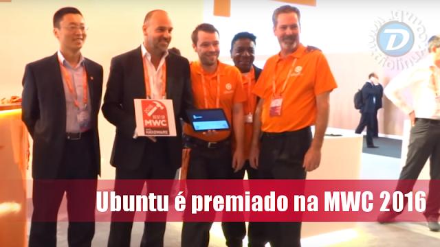 Ubuntu recebe prêmios na MWC 2016