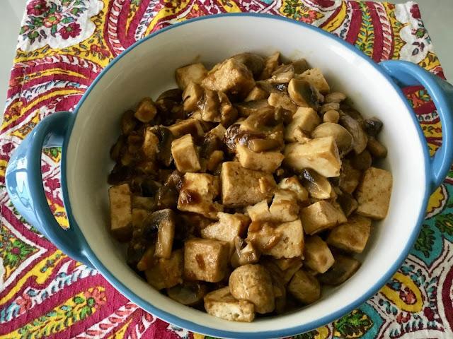 Vegan Mongolian Tofu