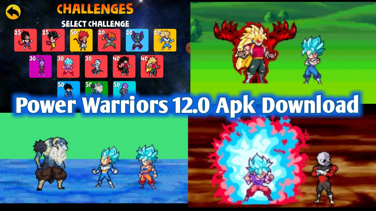 Power Warriors 12.0 Mod Apk Download