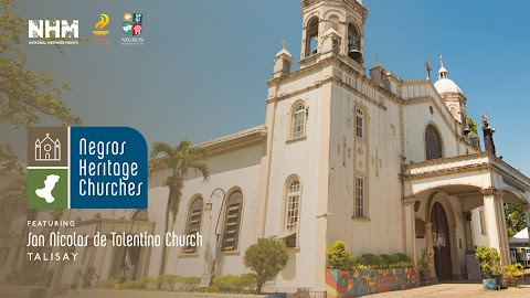 National Heritage Month Feature :  The Church of San Nicolas de Tolentino in Talisay