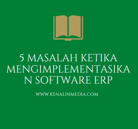5 Masalah Ketika Mengimplementasikan Software ERP