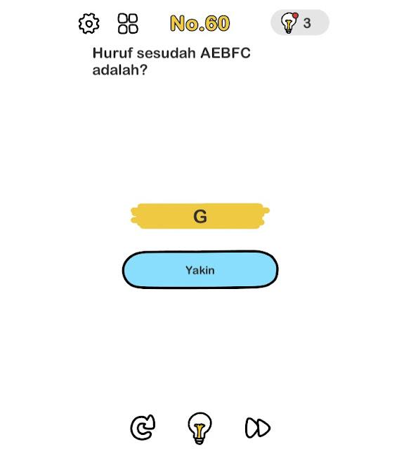 Huruf sesudah AEBFC Adalah?