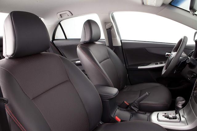 Toyota Corolla 2010 a 2012: recall para airbag - Brasil