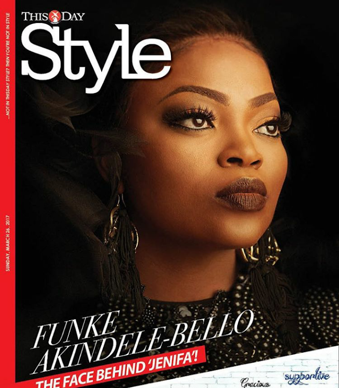 Funke Akindele Bello's Stunning Cover Photos For ThisDay Style!