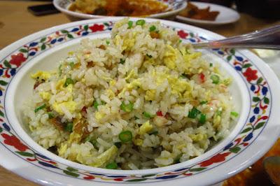 Nana Curry, salted fish fried rice