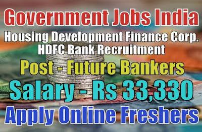 HDFC Bank Recruitment 2019