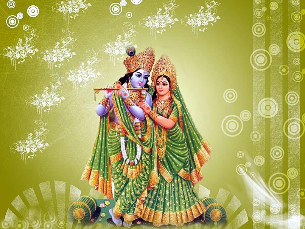 beautiful images of lord krishna and radha