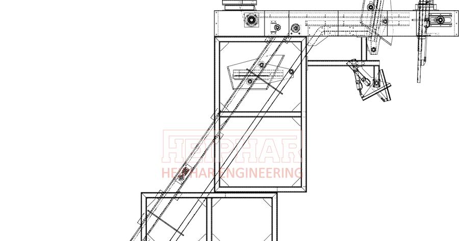 HEIPHAR: ระบบลำเลียง Bucket Conveyor System (กระพ้อลำเลียง)