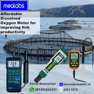 Dissolved Oxygen Meter untuk perikanan