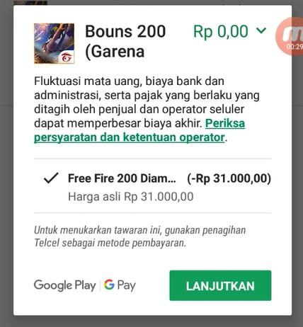 Free Fire 200 Diamonds