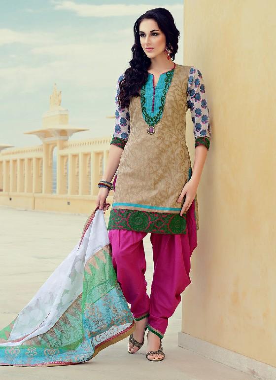 Indian-Pakistani-Casual-Shalwar-Kameez-Design-Churidar ... |Latest Bollywood Salwar Kameez Designs 2013