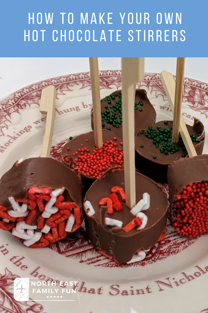 How to make your own hot chocolate stirrers