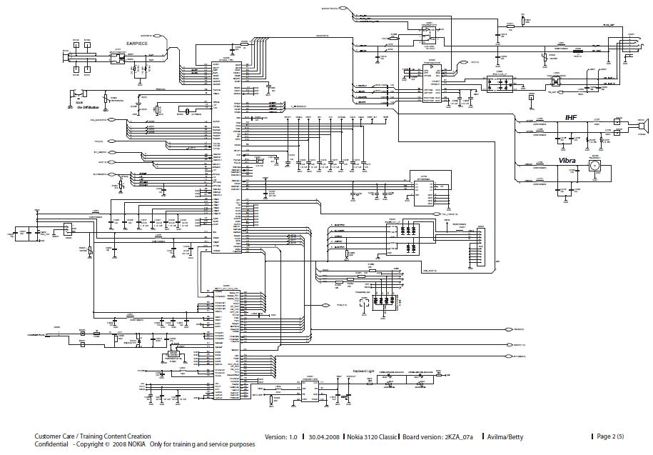 nokia n73 schematic diagram