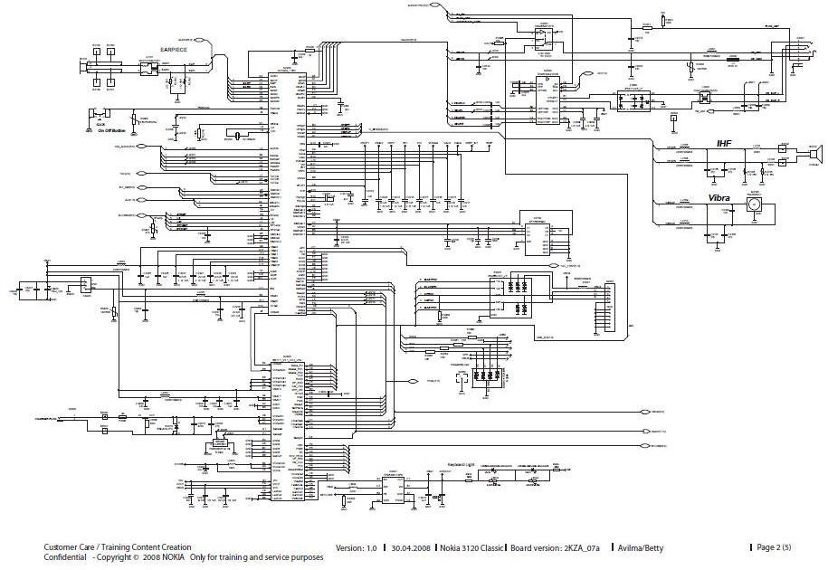 nokia 1600 board diagram