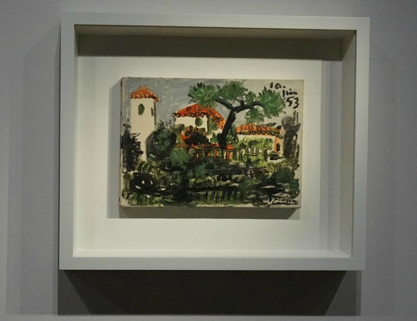 Picasso 1953 Garden in Vallauris