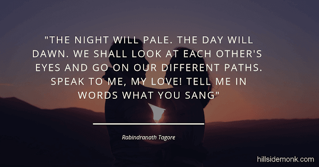 Rabindranath Tagore Poems 9 Gardner - Speak to me, my Love