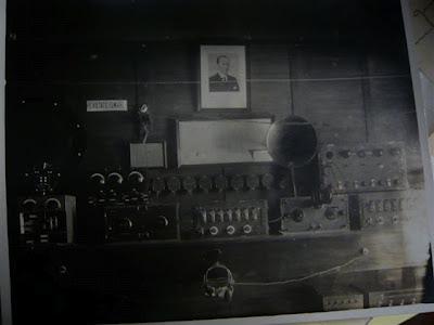"""Una delle prime stazioni di T.S.F, radiotelefonica di """"Torremuzza"""""""