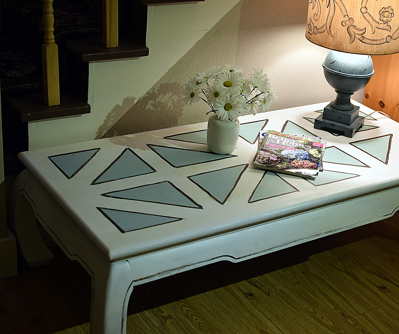 Simply Lora S Beauty Chalk Paint Patterned Table