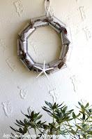 Beachy Tin Can Wreath