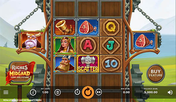 Ulasan Slot NetEnt Indonesia Riches of Midgards - Land and Expand