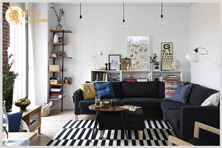 Distintas opciones para decorar un departamento alquilado sin gastar de mas y logrando una deco de gran impact