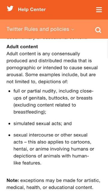 twitter porn ban