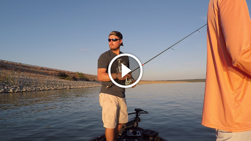how to fish deep for summer bass