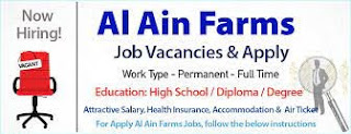 ETP Operator Job Recruitment In Al Ain Farms is one of the UAE's leading Dairy   Good Salary +OT, Accommodation, air ticket, Visa, Insurance Will be Provided by the company