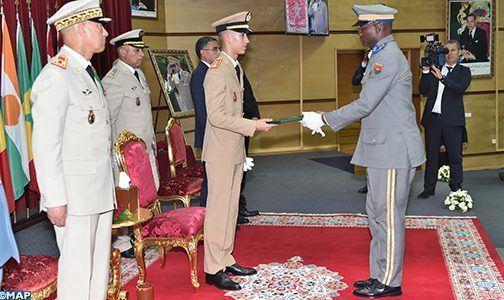 ولي العهد يترأس بالقنيطرة حفل تخرج بالكلية الملكية للدراسات العسكرية