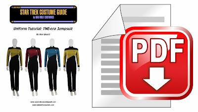 TNG jumpsuit sewing tutorial PDF