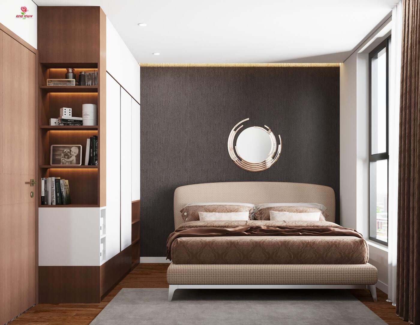 Nội thất phòng ngủ chung cư 79 Ngọc Hồi