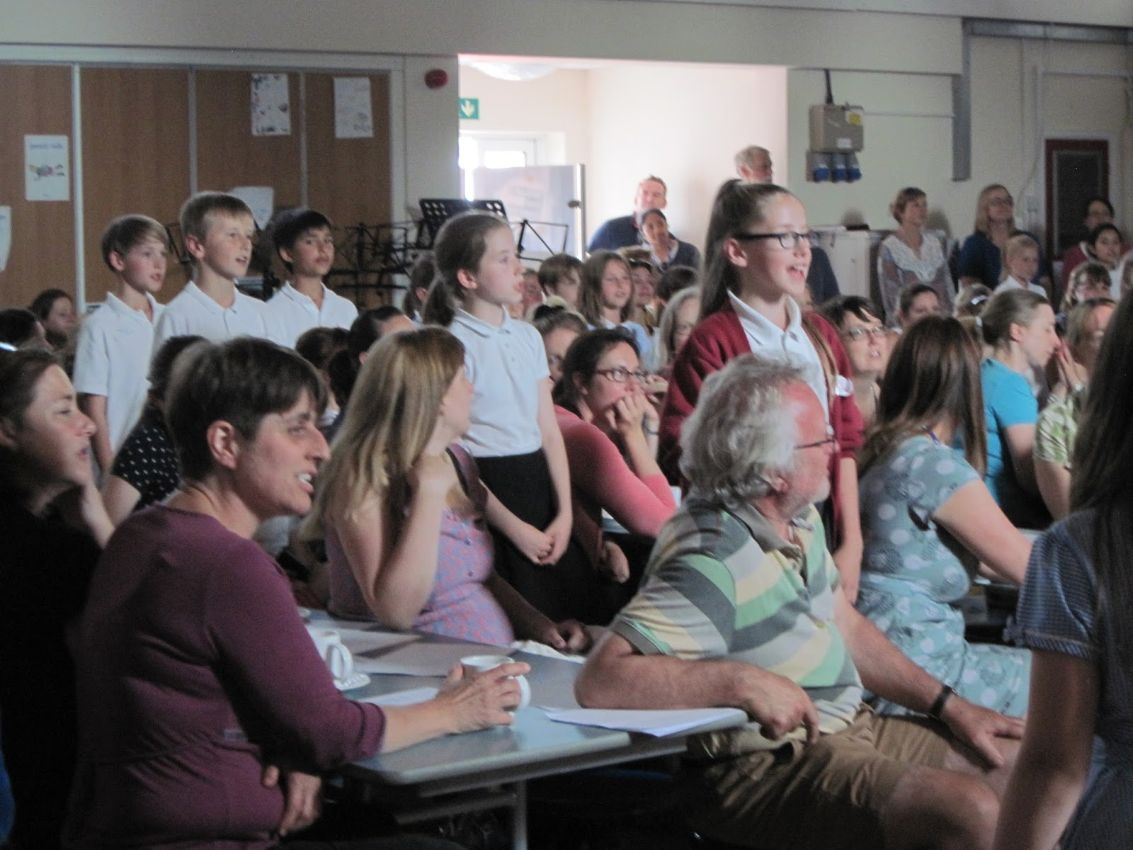 Cholsey Primary School Special Events: OPEN choir at the ...