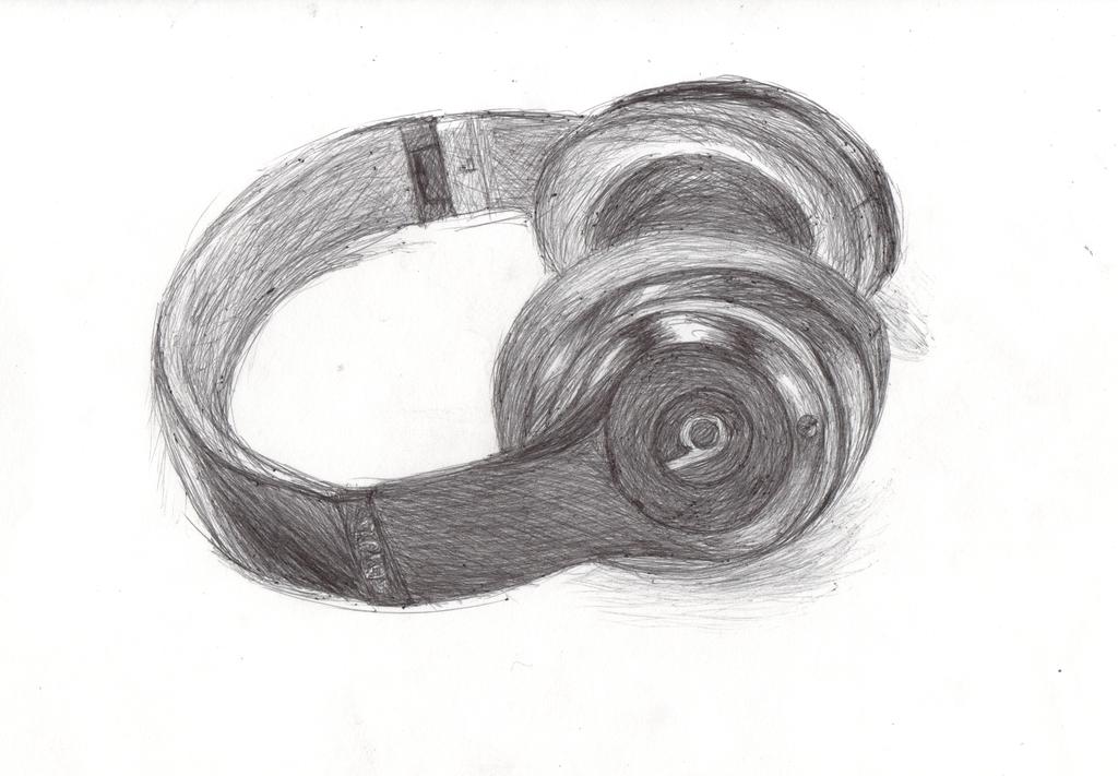 Dessin Casque Audio dessins et coloriages: dessin d'un casque audio