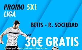 Suertia promo liga Betis vs Real Sociedad 19 enero 2020