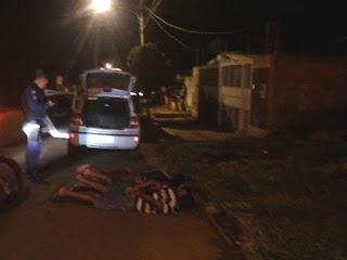Marginal rouba carro em estacionamento de mercado e é perseguido e detido pela Guarda Municipal de Campo Grande (MS)