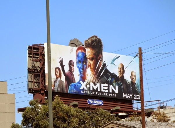 X-Men Days of Future Past special extension billboard