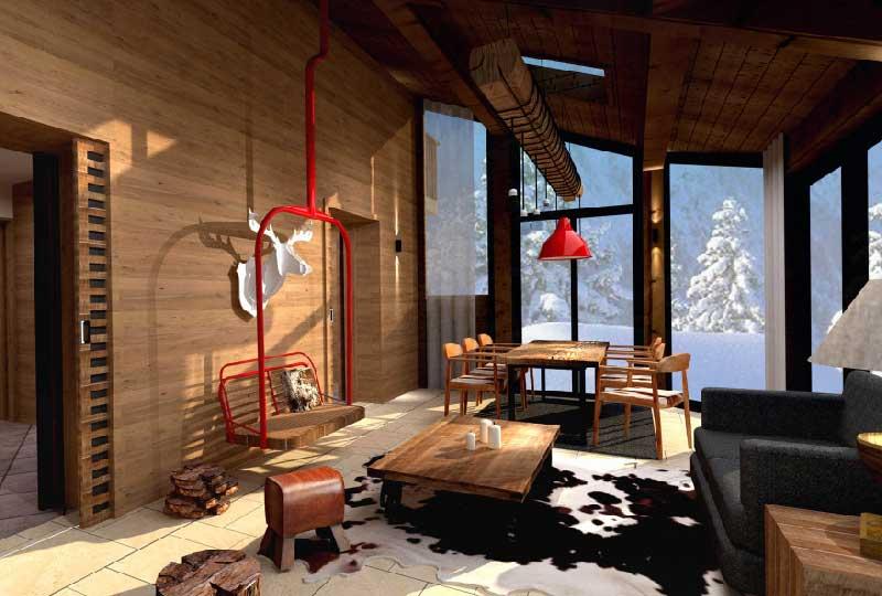 Arredamento Casa Di Montagna : Arredare casa in montagna pensando alle prime nevi dettagli