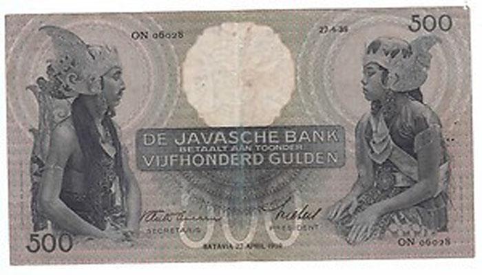 Uang Kuno 500 Gulden