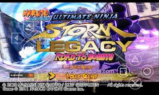 Naruto Shippuden Ultimate Ninja Legacy Road To Boruto Mod CSO